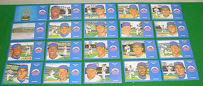 Complete Set of 36 1969 NEW YORK METS POSTCARDS Limited Edition by SUSAN RINI