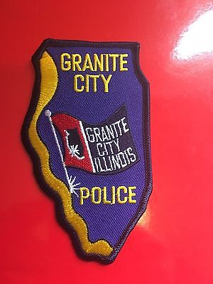 Granite Illinois Police  Shoulder Patch
