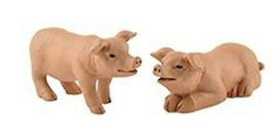 Blossom Bucket Set of 2 Standing and Laying Pigs  **So Cute**