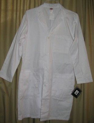 Size S Dickies Womens White lab coat  Professional or Student NWT NEW w Tags
