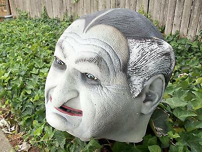 Munsters Grandpa Munster Adult Monster Mask Large Rubber Latex Halloween