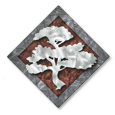 Abstract Tree Metal Wall Art Contemporary Home Decor Modern Wall Sculpture