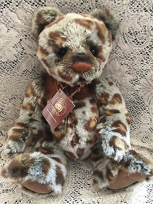 "Lennon * Charlie Bears 2014 Part 1 Plush  * 15.5"" New With Tags"