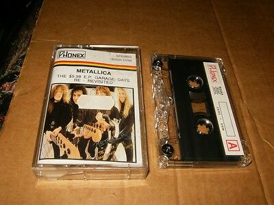 Metallica Garage Days Revisited Polish Cassette,Used,Plays Fine.