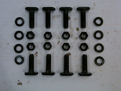 "(8) 9"" Inch Ford Axle Housing End T-Bolts - 3/8 - NEW"