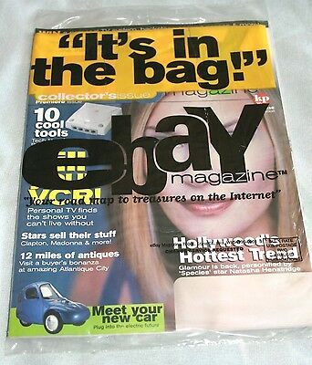 2000 Premiere Issue #1 eBay Magazine --NEW in package