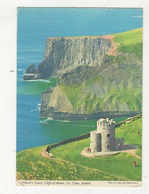 O'Briens Tower Cliffs Of Moher Co Clare Ireland 1976 Postcard 982a