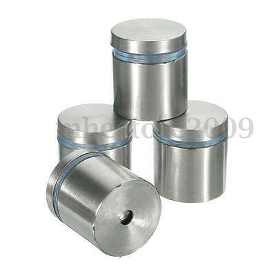 4pcs 27x25mm Stainless Stand Off Bolts Advertise Glass Standoffs Fixing Mount