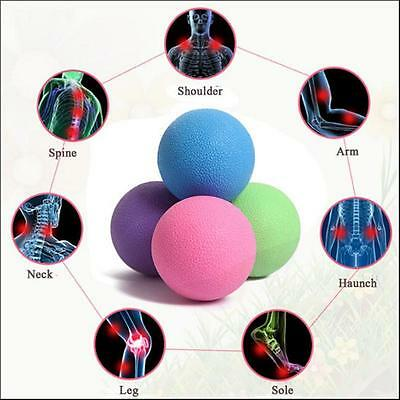 New Lacrosse Ball Massage Mobility Myofascial Trigger Point Body Pain Release B