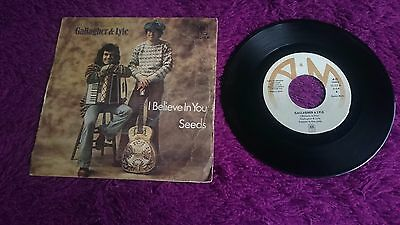 "Gallagher & Lyle ‎– I Believe In You ,  Vinyl, 7"", 1974 , Spain , 13.212-A"