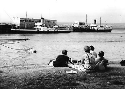Paddle Steamer PS Consul, PS Princess Elizabeth at Weymouth Pier 1964