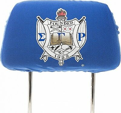 Sigma Gamma Rho Car Seat Headrest Cover [Blue]