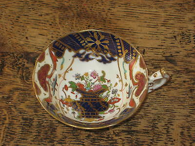 English 19Th Century Highregent Cup Inside Flower Decorated