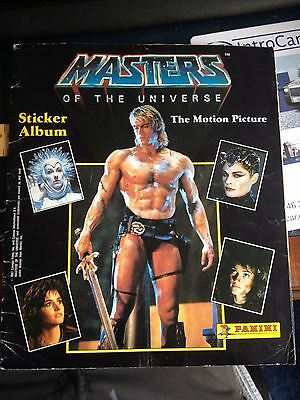 Masters of the Universe Panini Complete Sticker Album