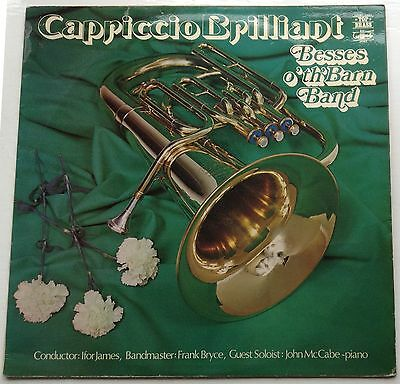 Vinyl LP record: Capriccio Brilliant - BESSES O' TH' BARN BAND 1973 - Ifor James