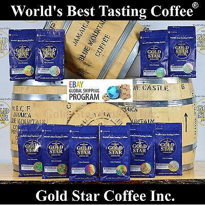 World's Best Coffee - 10 lb Jamaica Jamaican Blue Mountain - Global Shipping