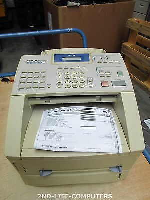 BROTHER 8360P Fax/copier Laser - monochrome b/w 14PPM MULTI FUNCTION BAD PRINTS