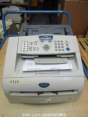 BROTHER IntelliFax 2820 Printer / Print - Copier COPY / Fax Machine PRINTS OK