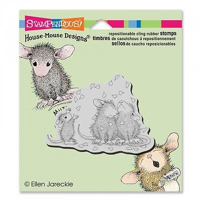 House Mouse Rubber Stamps Cling Shower Of Love New Stamp 2015