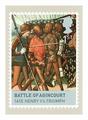 THE BATTLE OF AGINCOURT HENRY V's TRIUMPH THE HOUSES OF LANCASTER & YORK PHQ 308