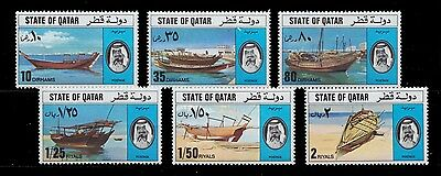 1976 Qatar Traditional Ships - Dohws Mint Hinged To Little Hinged