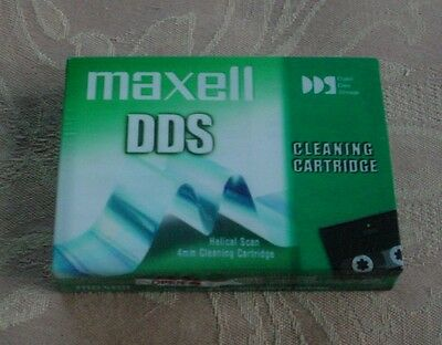 MAXELL DDS CLEANING CARTRIDGE HELICAL SCAN 4mm