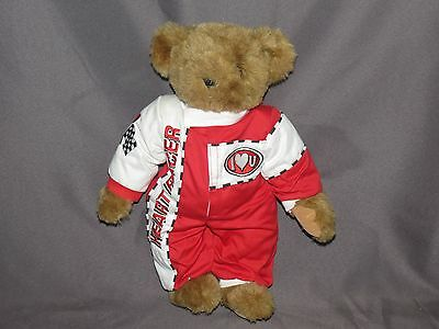 g7 Vermont Teddy Bear Heart Racer Collectible Free Domestic Shipping