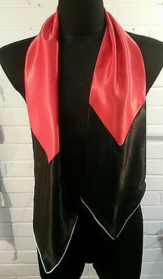 Elvis Presley RED Conference suit scarf .see other scarves in our shop cossack