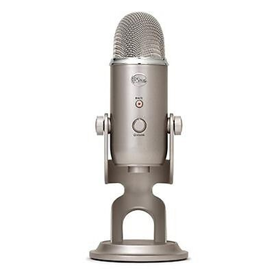 USB Microphone Four Pattern YETIPLATINUM Blue Microphones