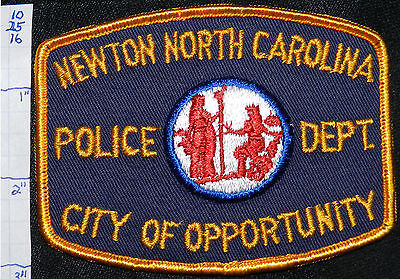 North Carolina, Newton Police Dept Patch