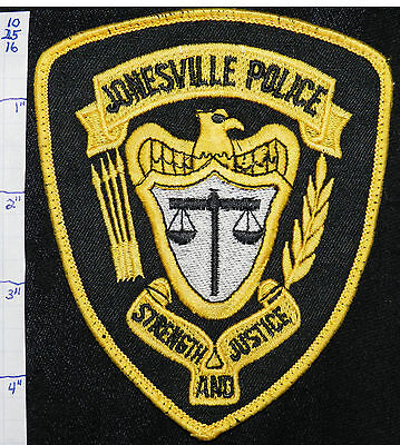 North Carolina, Jonesville Police Dept Patch