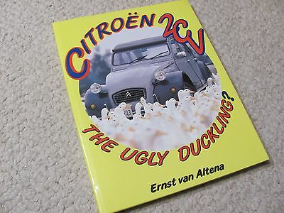 CITROEN 2CV-THE UGLY DUCKLING HARDBACK BOOK...rare