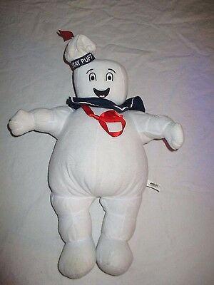 Vintage 1984 15-Inch Stay Puft Marshmallow Man Plush Toy Ghostbusters Figure