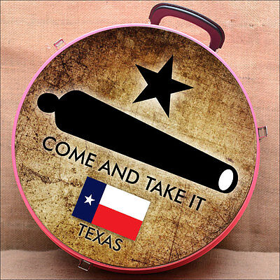 C- Come And Take It Texas Flag Medium Hilason Heavy Duty Abs Rope Can Horse Pink