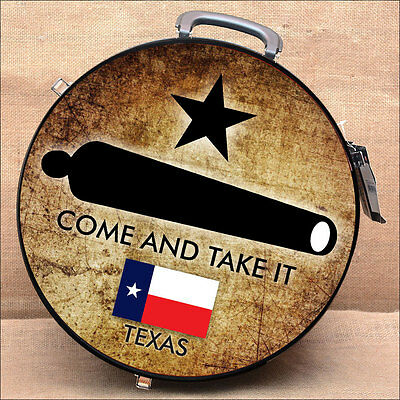 C- Come And Take It Texas Flag Large Hilason Heavy Duty Abs Rope Can Horse Black