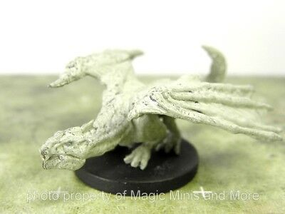 Monster Menagerie II ~ WHITE DRAGON WYRMLING #24 Icons of the Realms 2 D&D mini