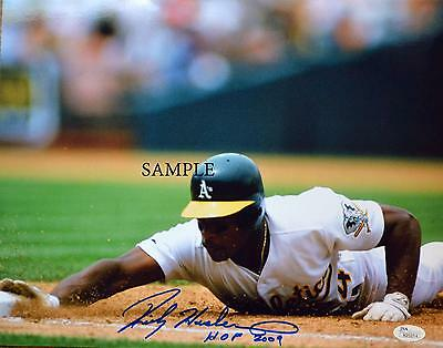 Rickey Henderson #3 Reprint Autographed Picture Signed Photo 8X10 Ny Yankees A's