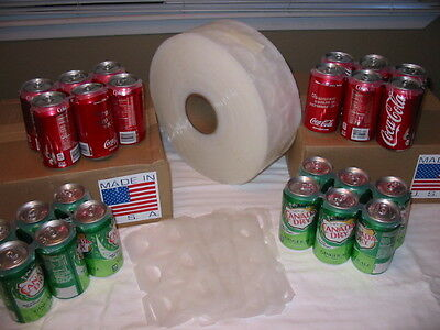 Six Pack Soda & Beer Plastic Rings Fit #2 and #4 1000 On A Roll