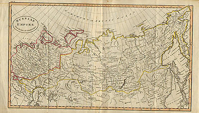 "1790s original  map of "" russian empire  : from the best authorities  """