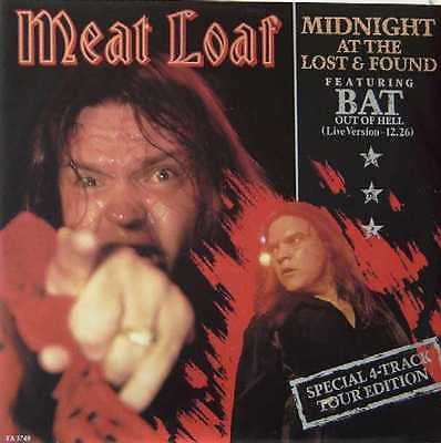 "MEAT LOAF UK LIMITED 1983 12"" Single Midnight At The Lost and found"