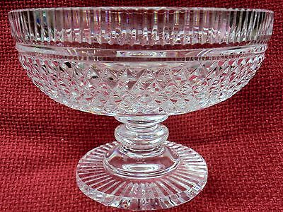 WATERFORD Crystal - Heritage Collection - Pedestal Bowl - 7.5 INCHES