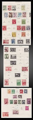 1913 T0 1938 Australia Small Lot From Old Album Page Kangaroos Used + Some Mint