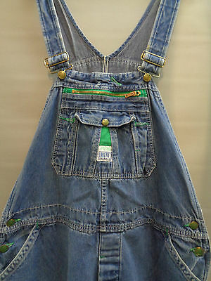 Vtg Liberty denim work trousers bibs overalls dungarees chore pants