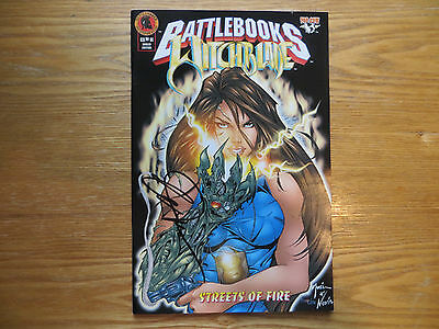 1999 Top Cow Comics Battlebooks Witchblade Signed By Billy Tucci, With Poa