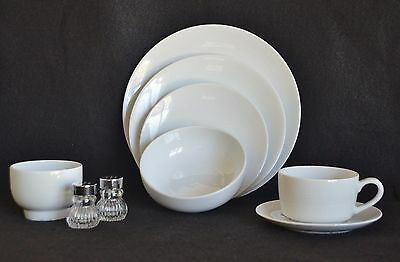 Pan Am Airlines 1St Class China Dishes -Wave Pattern  7 Piece Place Setting
