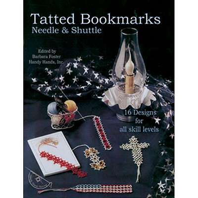 Handy Hands-Tatted Bookmarks-Needle & Shuttle 769826321033