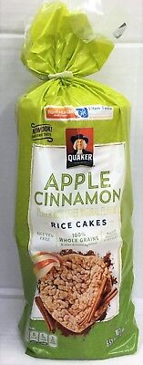 Quaker Apple Cinnamon Gluten Free Rice Cakes 6.53 oz