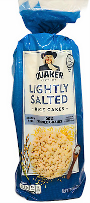 Quaker Lightly Salted Gluten Free Rice Cakes 4.47 oz