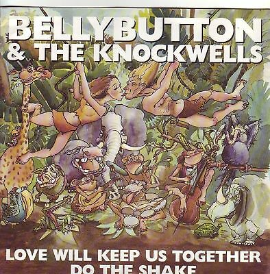 """7"" - BELLY BUTTON - Love will keep us together - MINT"