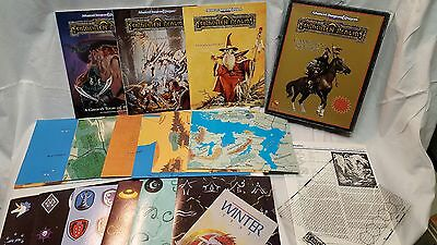 Forgotten Realms CAMPAIGN SETTING AD&D Boxed Set Dungeons Dragons 2nd Ed 1085